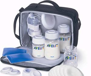 Prácticos y sencillos extractores de leche, teteros diseñados por científicos de Avent