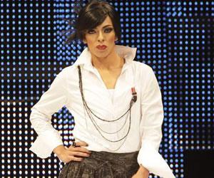 Travestis y transexuales participan en la Semana de la Moda de Bogotá