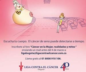 """En el día de la mujer """"Foro contra el cáncer"""""""