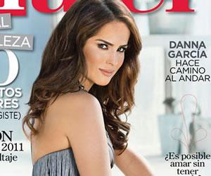 """Actriz colombiana Danna García escogida como portada de """"Siempre Mujer"""""""