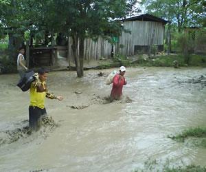 Cuencas de los ríos Magdalena y Cauca por las lluvias en alerta roja