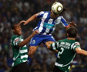 Falcao sigue imparable. Anotó doblete en el clásico ante Sporting