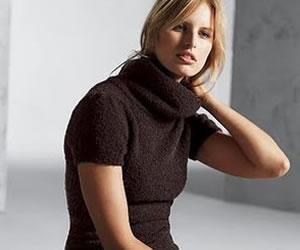 El cuello alto de moda en este invierno