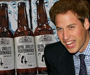 Lanzan cerveza con viagra para celebrar la boda real