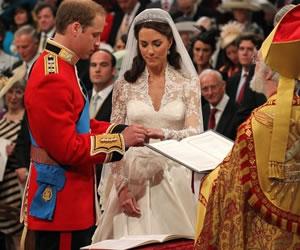 Kate y el principe Guillermo se dieron el sí