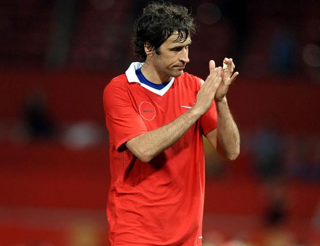 Raúl, figura del Schalke que por primera vez llegó a las semifinales de la Champions/EFE
