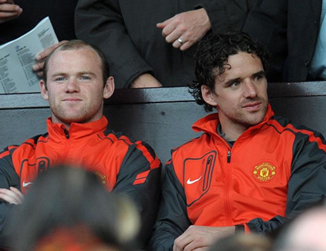 Wayne Rooney no estuvo en el juego porque el técnico decidió reservarlo para enfrentar al Chelsea en la Premier/EFE