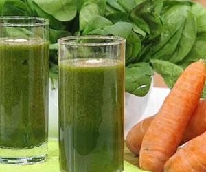 Un jugo trifásico lleno de fibra, vitaminas y minerales