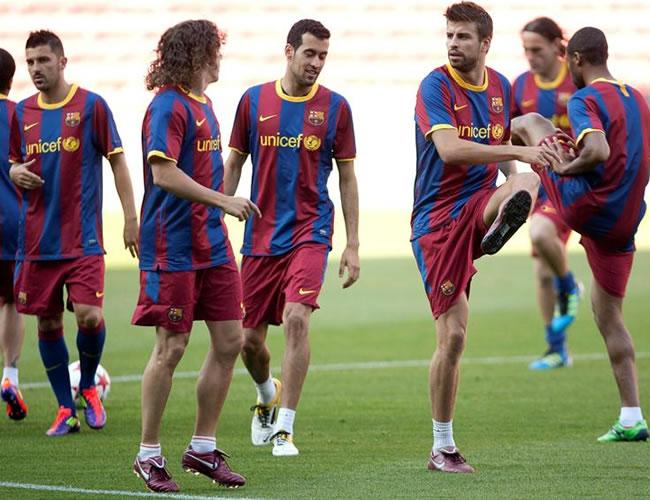 Barça adelantó su viaje a Londres para la final de la Champions L.