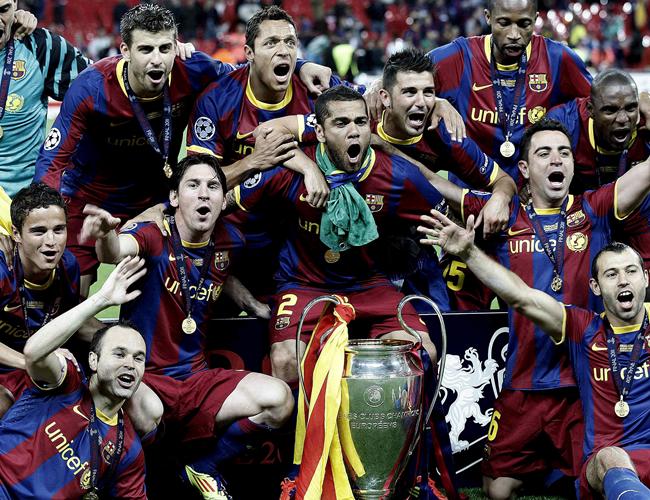 Esta es la segunda Liga de Campeones en la era de Joseph Guardiola. EFE