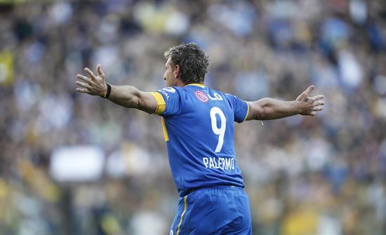 Palermo alcanza a Sanfilippo como quinto goleador histórico de Argentina