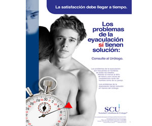 30% de los hombres colombianos padecen eyaculación precoz
