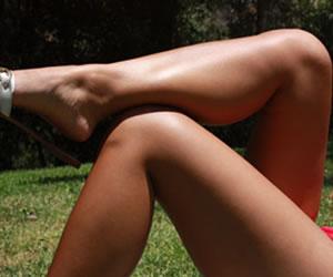 Qué hace para lucir unas lindas piernas