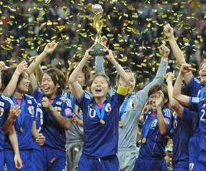 Selección femenina de Japón, campeona del mundial de fútbol femenino. EFE