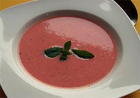 Sopa de Sandía