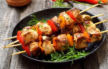 Brochetas Crocantes