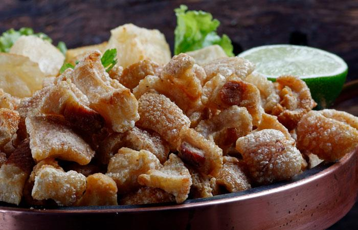 Chicharrones de tocino