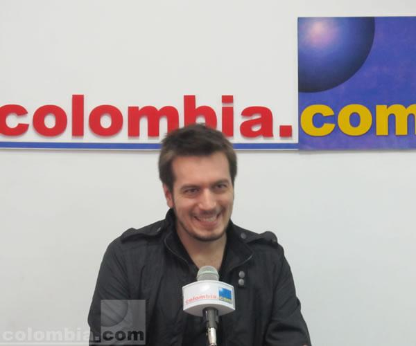 Ale Ortega en colombia.com. Fotos: Estefani Hernández