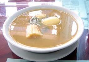 Sopa de cuajada