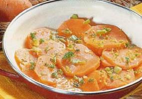 Zanahorias con limón