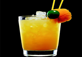 Ponche de naranja