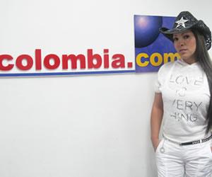 La cantante Bera llega a Colombia.com