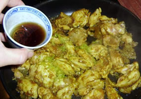 Pollo thai al curry