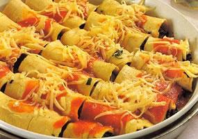 Canelones 4 quesos