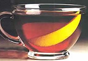 Ron con té inglés caliente