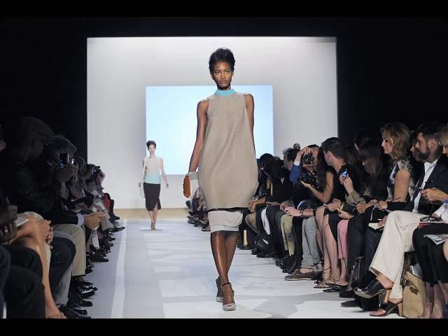 Alta costura en La Semana de la Moda en Nueva York