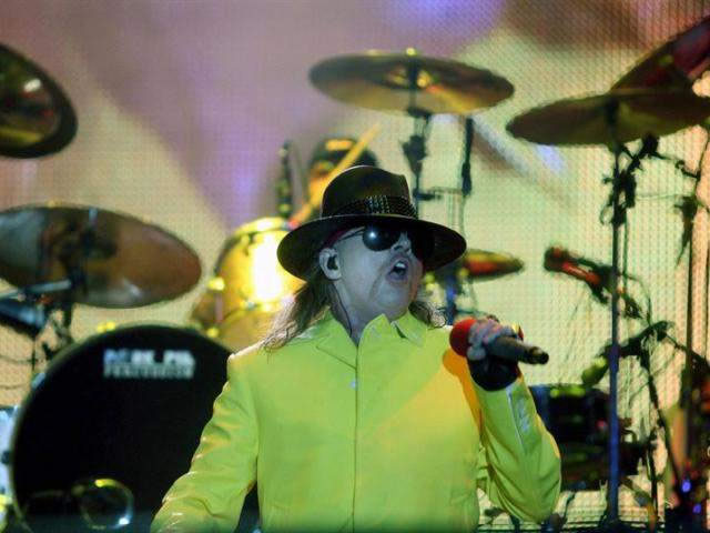 Guns N´Roses cerró Rock in Rio 2011 con explosivo show. Foto: EFE