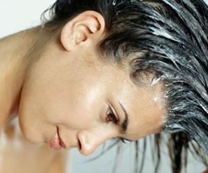 Mascarilla casera para el cabello
