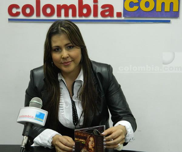 Arelys Henao en Colombia.com. Foto: Alejandra Fontecha