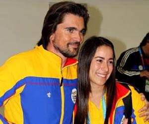 Juanes se puso la camiseta de Colombia en los Panamericanos