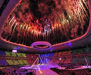 Guadalajara inauguró sus juegos con música, alegría y mucho color