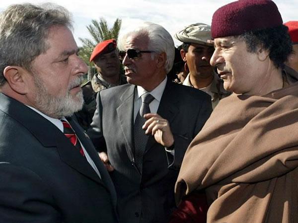 Personajes importantes del mundo que se reunieron con Gadafi