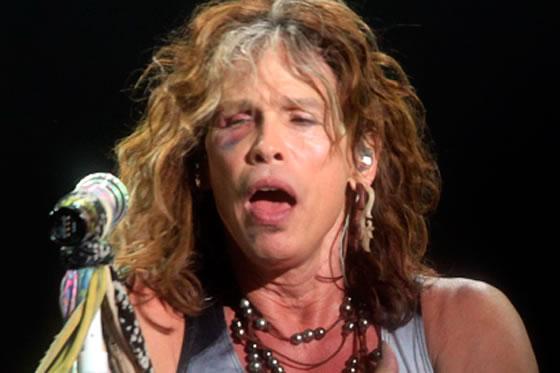 Aerosmith en Paraguay. Foto: EFE