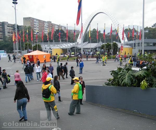 Seguridad en las elecciones 2011. Foto: Leonardo Quimbay