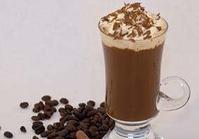 Crema de café y chocolate