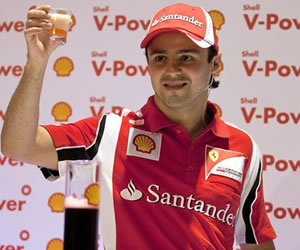 Felipe Massa espera buenos resultados y renovar contrato con Ferrari
