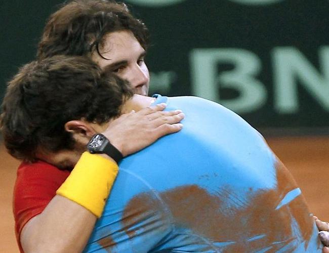 España derrotó a Argentina en la final de Copa Davis. Foto: EFE