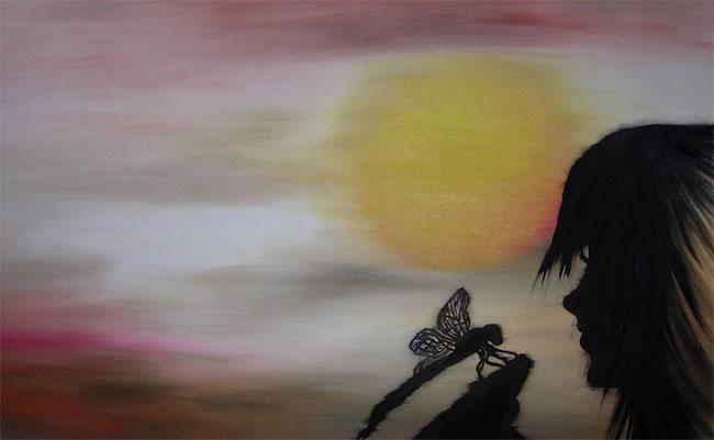 Habla con la libélula