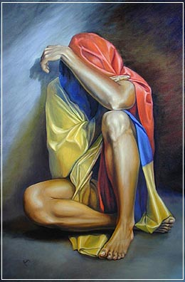 Colombia III. Óleo sobre lienzo