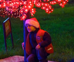 Alegria, magia y diversión en la tradicional ciclovía nocturana de navidad