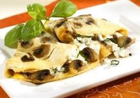 Tortillas de champiñones