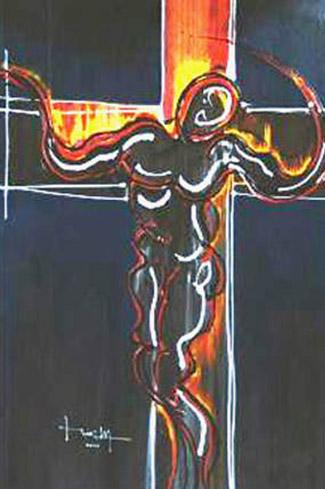 Cristo en Llamas