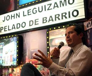 """El actor John Leguízamo presenta en Bogotá su monólogo """"Pelado de barrio"""""""