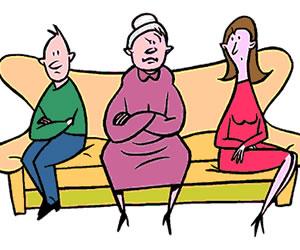 Las suegras pueden causar impotencia sexual en los hombres