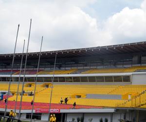 Ojo con el estadio El Campín si es prestado para conciertos