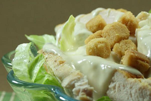 Ensalada de pollo en salsa de Yogurt